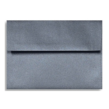 LUX A7 Invitation Envelopes (5 1/4 x 7 1/4), Anthracite Metallic, 500/Box (5380-15-500)