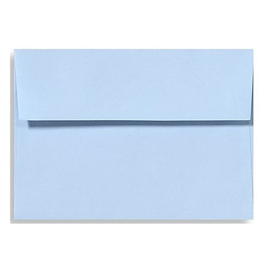 LUX A7 Invitation Envelopes (5 1/4 x 7 1/4) 500/Box, Baby Blue (EX4880-13-500)