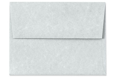 LUX A7 Invitation Envelopes (5 1/4 x 7 1/4) 250/Box, Blue Parchment (6680-12-250)