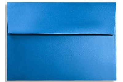 LUX A7 Invitation Envelopes (5 1/4 x 7 1/4) 250/Box, Boutique Blue (FA4880-02-250)