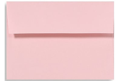 LUX A7 Invitation Envelopes (5 1/4 x 7 1/4) 500/Box, Candy Pink (EX4880-14-500)