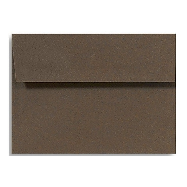 LUX A7 Invitation Envelopes (5 1/4 x 7 1/4), Chocolate, 500/Box (EX4880-17-500)