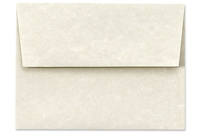 LUX A7 Invitation Envelopes (5 1/4 x 7 1/4) 250/Box, Cream Parchment (6680-11-250)