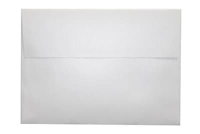 LUX A7 Invitation Envelopes (5 1/4 x 7 1/4) 1000/Box, Crystal Metallic (5380-30-1000)