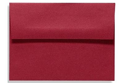 LUX A7 Invitation Envelopes (5 1/4 x 7 1/4) 500/Box, Garnet (EX4880-26-500)