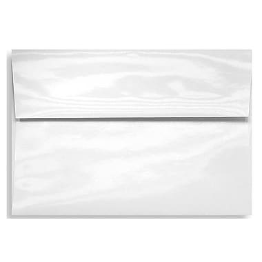 LUX A7 Invitation Envelopes (5 1/4 x 7 1/4) 1000/Box, Glossy White (5880-GL-1000)