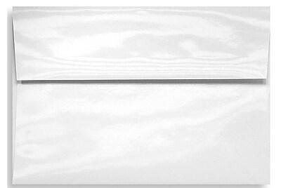 LUX A7 Invitation Envelopes (5 1/4 x 7 1/4) 500/Box, Glossy White (5880-GL-500)