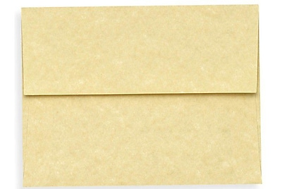 LUX A7 Invitation Envelopes (5 1/4 x 7 1/4) 500/Box, Gold Parchment (6680-14-500)