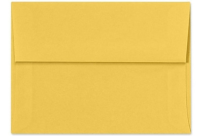 LUX A7 Invitation Envelopes (5 1/4 x 7 1/4) 1000/Box, Goldenrod (SH4280-08-1000)