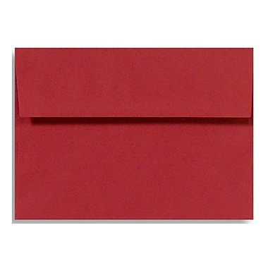 LUX A7 Invitation Envelopes (5 1/4 x 7 1/4), Holiday Red, 50/Box (FE4280-15-50)