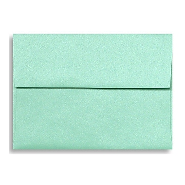 LUX A7 Invitation Envelopes (5 1/4 x 7 1/4), Lagoon Metallic, 1000/Box (5380-27-1000)
