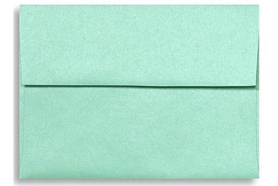 LUX A7 Invitation Envelopes (5 1/4 x 7 1/4) 500/Box, Lagoon Metallic (5380-27-500)