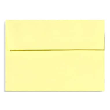 LUX A7 Invitation Envelopes (5 1/4 x 7 1/4) 500/Box, Lemonade (EX4880-15-500)