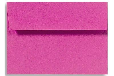 LUX A7 Invitation Envelopes (5 1/4 x 7 1/4) 250/Box, Magenta (EX4880-10-250)