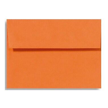 LUX A7 Invitation Envelopes (5 1/4 x 7 1/4) 500/Box, Mandarin (EX4880-11-500)