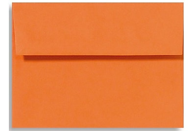 LUX A7 Invitation Envelopes (5 1/4 x 7 1/4) 500/Box, Mandarin (EX4880-11-500)