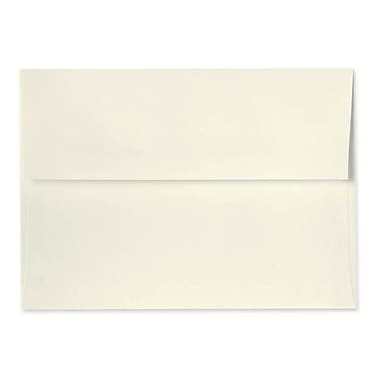 LUX A7 Invitation Envelopes (5 1/4 x 7 1/4), 100% Recycled, Natural, 250/Box (4880-NPC-250)