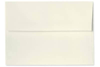 LUX A7 Invitation Envelopes (5 1/4 x 7 1/4) 250/Box, Natural - 100% Recycled (4880-NPC-250)