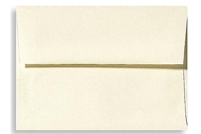 LUX A7 Invitation Envelopes (5 1/4 x 7 1/4) 1000/Box, Natural Linen (4880-NLI-1000)
