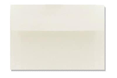 LUX A7 Invitation Envelopes (5 1/4 x 7 1/4) 500/Box, Natural White - 100% Cotton (4880-SN-500)