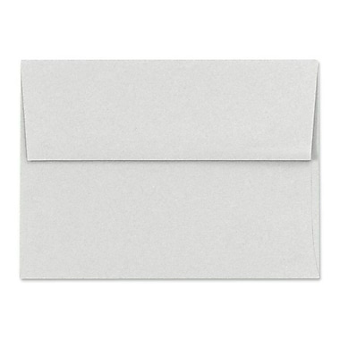 LUX A7 Invitation Envelopes (5 1/4 x 7 1/4), Pastel Gray, 500/Box (SH4280-03-500)