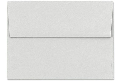 LUX A7 Invitation Envelopes (5 1/4 x 7 1/4) 50/Box, Pastel Gray (SH4280-03-50)
