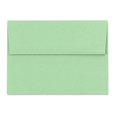 LUX A7 Invitation Envelopes (5 1/4 x 7 1/4) 50/Box, Pastel Green (SH4280-04-50)