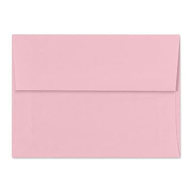 LUX A7 Invitation Envelopes (5 1/4 x 7 1/4) 50/Box, Pastel Pink (SH4280-06-50)