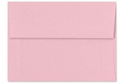 LUX A7 Invitation Envelopes (5 1/4 x 7 1/4) 250/Box, Pastel Pink (SH4280-06-250)