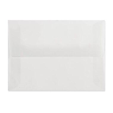 LUX A7 Invitation Envelopes (5 1/4 x 7 1/4) 250/box, Platinum Translucent (4880-31-250)
