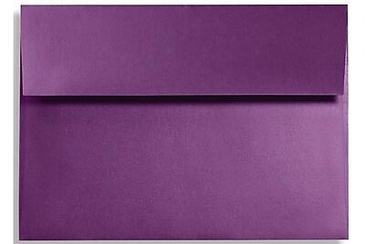 LUX A7 Invitation Envelopes (5 1/4 x 7 1/4) 500/Box, Purple Power (FA4880-06-500)