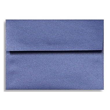 LUX A7 Invitation Envelopes (5 1/4 x 7 1/4), Sapphire Metallic, 250/Box (5380-18-250)