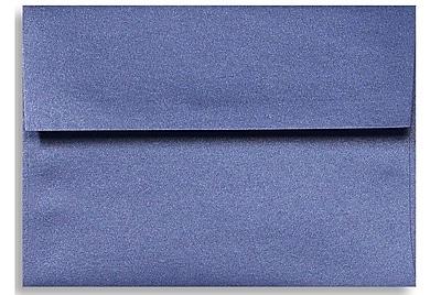 LUX A7 Invitation Envelopes (5 1/4 x 7 1/4) 500/Box, Sapphire Metallic (5380-18-500)