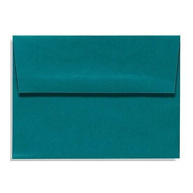 LUX A7 Invitation Envelopes (5 1/4 x 7 1/4) 500/Box, Teal (EX4880-25-500)
