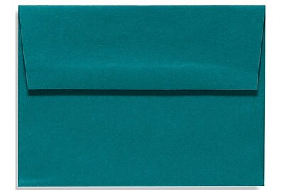LUX A7 Invitation Envelopes (5 1/4 x 7 1/4) 500/Box, Teal (EX4880-25-500)