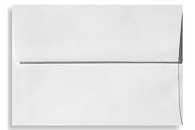 LUX A7 Invitation Envelopes (5 1/4 x 7 1/4) 500/Box, White Linen (4880-WLI-500)