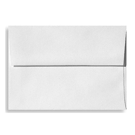 lux a7 invitation envelopes 5 1 4 x 7 1 4 500 box white linen