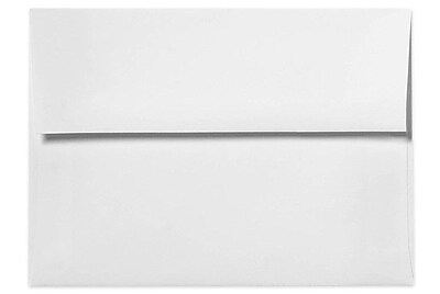 LUX A8 Invitation Envelopes (5 1/2 x 8 1/8) 500/Box, 80lb. Bright White (FE4585-05-500)