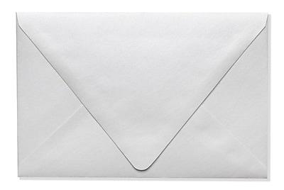 LUX A9 Contour Flap Envelopes (5 3/4 x 8 3/4) 50/Box, Crystal Metallic (1895-30-50)