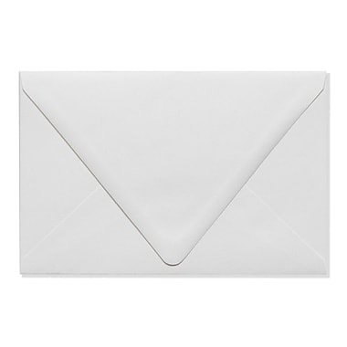 LUX A9 Contour Flap Envelopes (5 3/4 x 8 3/4) 50/Box, White - 100% Recycled (1895-WPC-50)