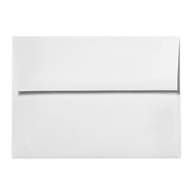 LUX A9 Invitation Envelopes (5 3/4 x 8 3/4) 50/Box, 70lb. Bright White (4895-70W-50)