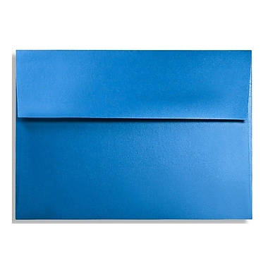 LUX A9 Invitation Envelopes (5 3/4 x 8 3/4) 50/Box, Boutique Blue (FA4895-02-50)