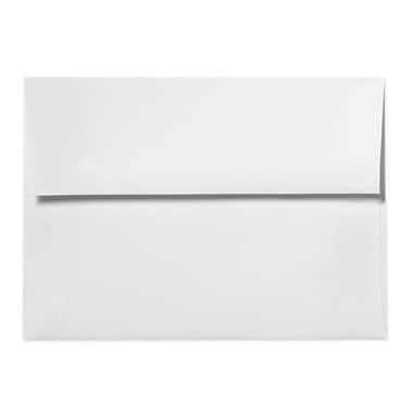 LUX A9 Invitation Envelopes (5 3/4 x 8 3/4) 50/Box, Bright White - 100% Cotton (4895-SW-50)