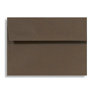 LUX A9 Invitation Envelopes (5 3/4 x 8 3/4) 500/Box, Chocolate (EX4895-17-500)