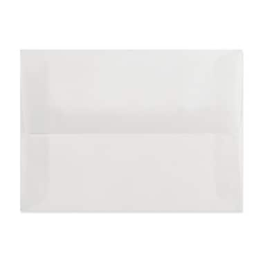 LUX A9 Invitation Envelopes (5 3/4 x 8 3/4) 500/Box, Clear Translucent (4895-00-500)