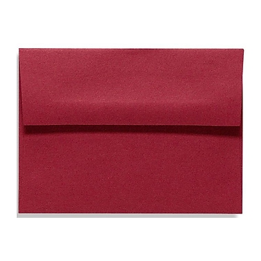LUX A9 Invitation Envelopes (5 3/4 x 8 3/4) 500/Box, Garnet (EX4895-26-500)