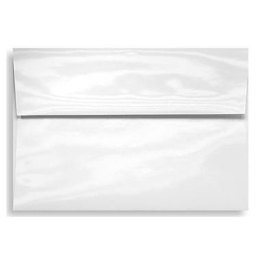 LUX A9 Invitation Envelopes (5 3/4 x 8 3/4) 50/Box, Glossy White (5895-GL-50)