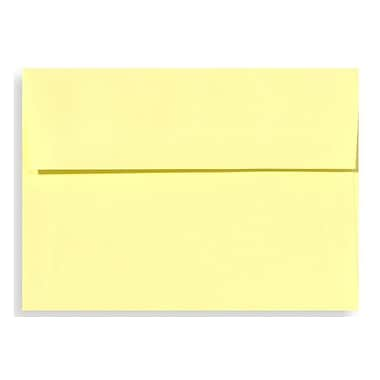 LUX A9 Invitation Envelopes (5 3/4 x 8 3/4) 50/Box, Lemonade (EX4895-15-50)
