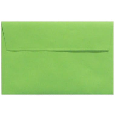 LUX A9 Invitation Envelopes (5 3/4 x 8 3/4) 1000/Box, Limelight (LUX-4895-101-10)