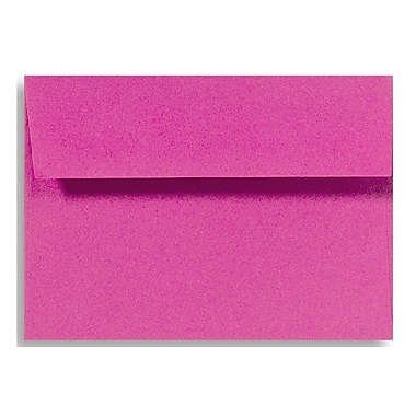 LUX A9 Invitation Envelopes (5 3/4 x 8 3/4) 250/Box, Magenta (EX4895-10-250)